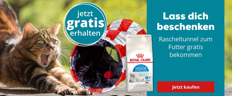 Royal Canin Rascheltunnel