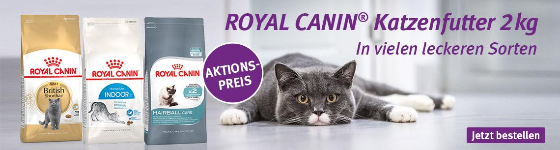 Royal Canin 2kg Trockenfutter zum Aktionspreis
