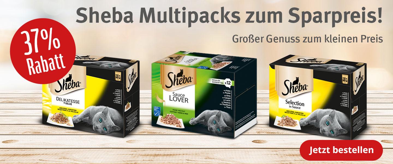 37% auf Sheba Multipacks