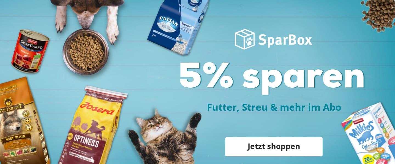 Dauerhaft 5% sparen! Mit der ZooRoyal Sparbox