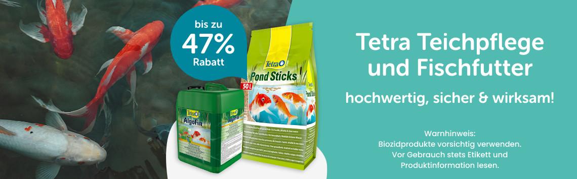 bis zu 47% auf Tetra