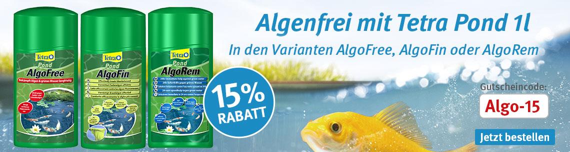 Tetra Pond Algo 15% Rabatt