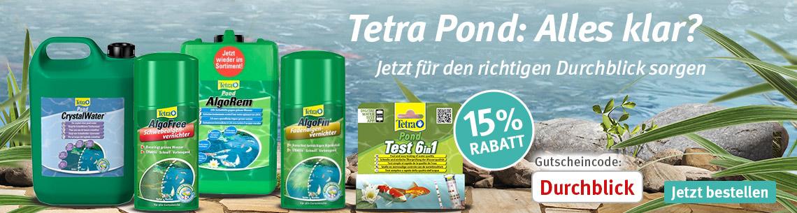 Tetra Pond 15% Rabatt