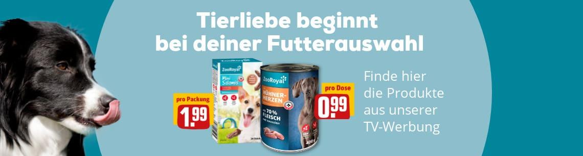 ZooRoyal-Produkte für Hunde