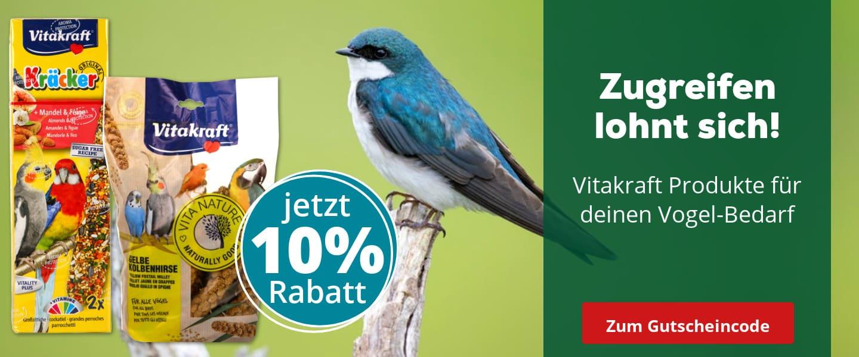 10% Preisvorteil auf Vitakraft Vogelfutter
