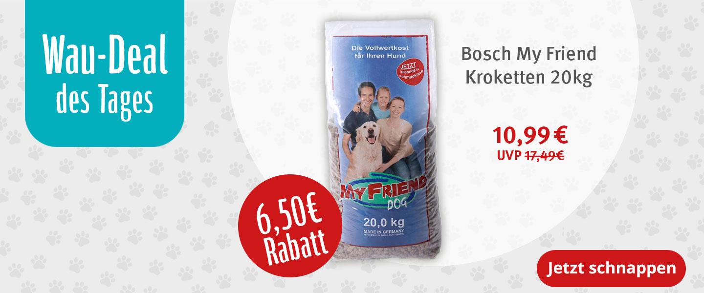 Bosch My Friend Kroketten 20kg für nur 10,99€ statt 17,49€