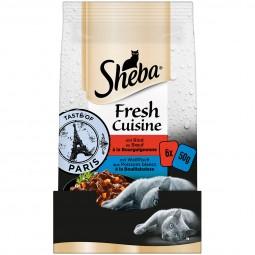SHEBA Fresh Cuisine Taste of Paris Rind & Weißfisch