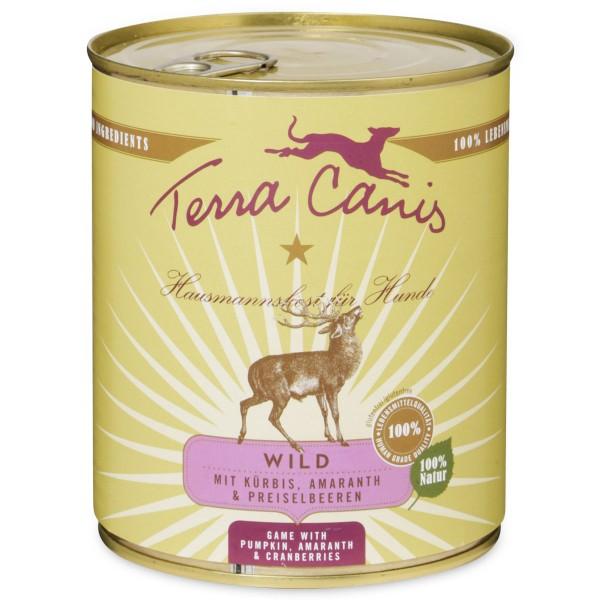 Terra Canis Wild mit Kürbis, Amaranth & Preiselbeeren - 800g