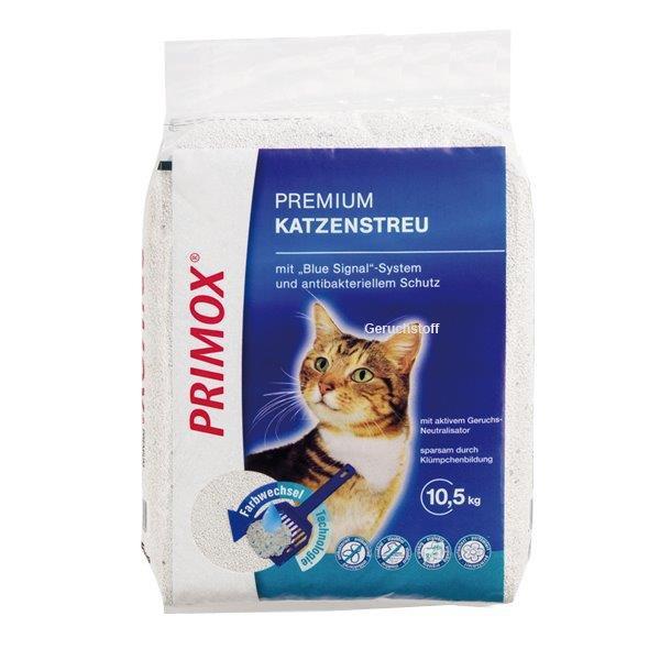Primox Premium Katzenstreu Blue Signal 10,5kg
