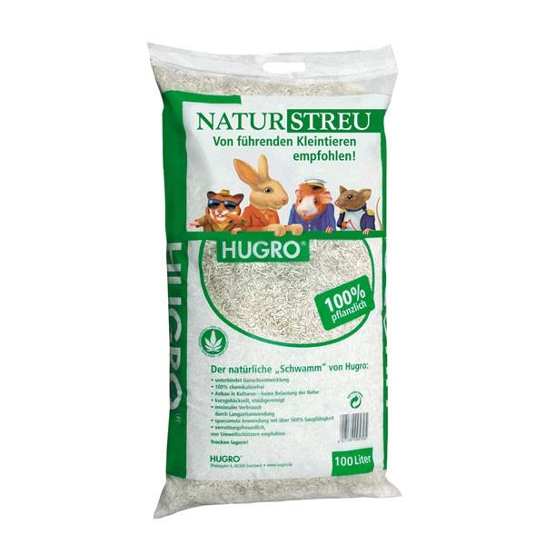 Haustier Angebot: Hugro Naturstreu für Nager 100% pflanzlich – 100 Liter