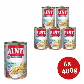 Felixsee Angebote Finnern Rinti Nassfutter Kennerfleisch mit Pansen - 6x400g