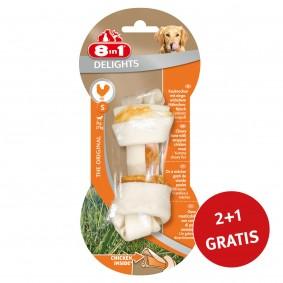 8in1 Delights Kauknochen Chicken/Huhn  S 1 Stück 2+1 GRATIS