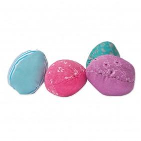 Aumüller polštářky na hraní pro kočky ve tvaru velikonočních vajíček, sada 2 kusů