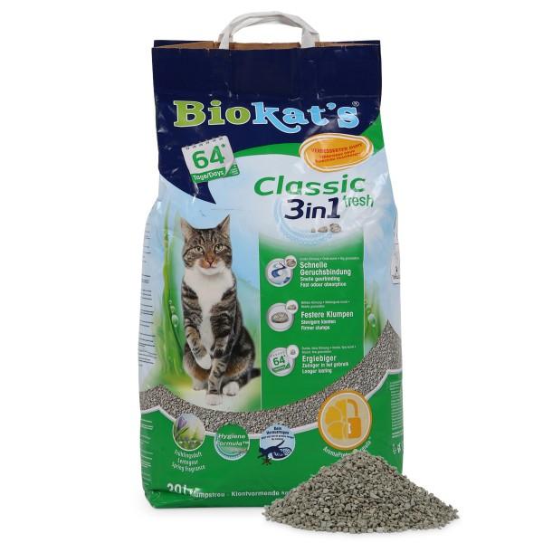 Biokat's Katzenstreu fresh