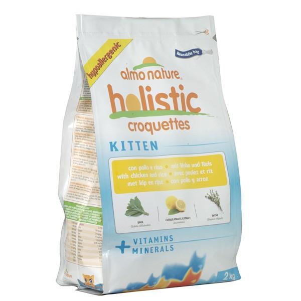Almo Nature Holistic Cat Kitten Huhn+Reis - 2kg