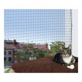 Trixie Cat Protect Katzen-Schutznetz schwarz