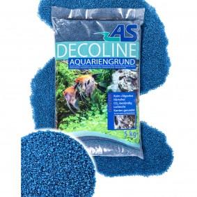 AS Decoline gravier pour aquarium bleu 5 kg
