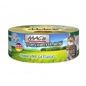 MAC's Cat Katzenfutter Feinschmecker Menü Lamm, Geflügel und Ei