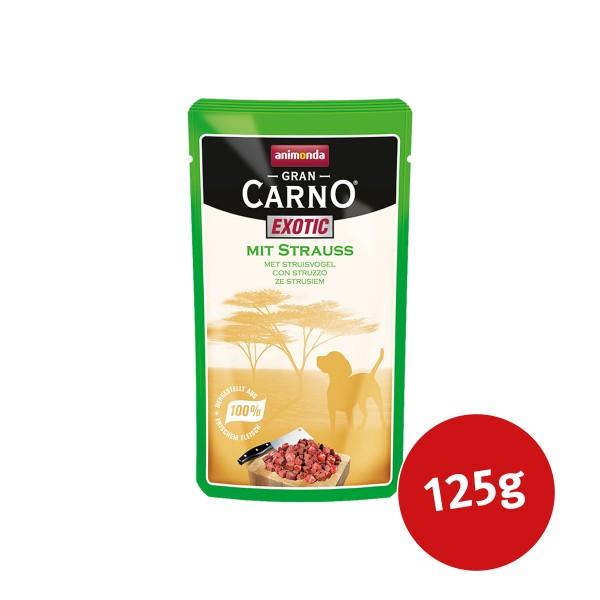 Animonda Hundefutter Gran Carno Exotic mit Strauß