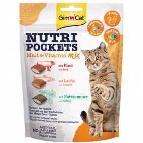 GimCat Nutri Pockets Malt&Vitamin Mix