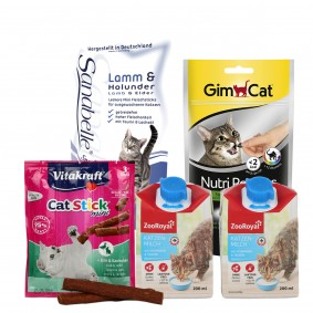 Snackpaket für empfindliche Katzen