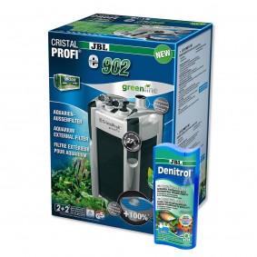 JBL CristalProfi e902 greenline + Denitrol 250ml gratis
