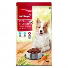 ZooRoyal Hunde-Trockenfutter Soft Brocken mit Rind 1,5kg