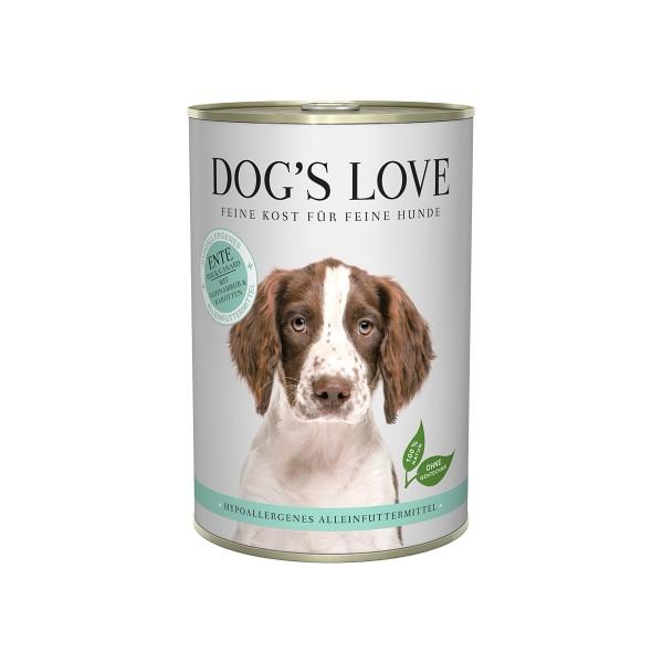 Dog's Love Hypoallergen Ente mit Topinambur und Karotten