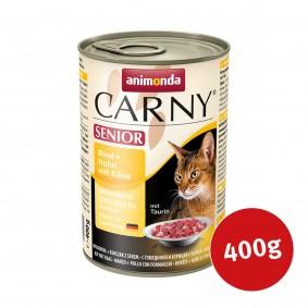 Animonda Katzenfutter Carny Senior Rind, Huhn mit Käse