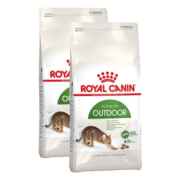 Royal Canin Katzenfutter Outdoor 2x10kg