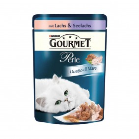 Kolkwitz Angebote Nestlé Purina Gourmet Perle Duetto di Mare Lachs & Seelachs - 48x85g