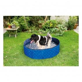 Karlie Doggy Pool Hundepool 160 x 30cm blau-schwarz