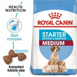 ROYAL CANIN MEDIUM Starter für tragende Hündinnen und Welpen mittelgroßer Rassen