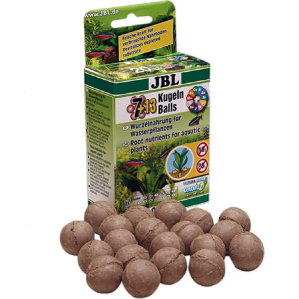 JBL 7+13 Kugeln Wurzelnahrung für Wasserpflanzen