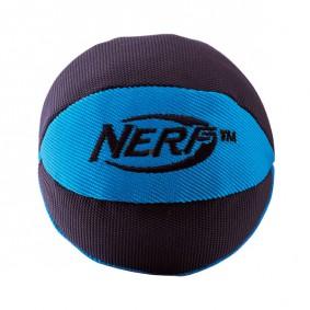NERF Dog Nylonball mit Quietscher Blau/Rot 10cm