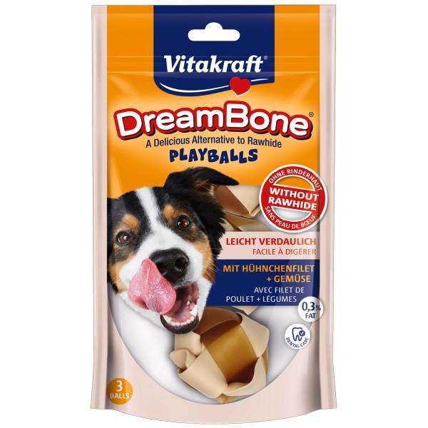 Vitakraft Hundesnack DreamBone Playballs 3 Stück