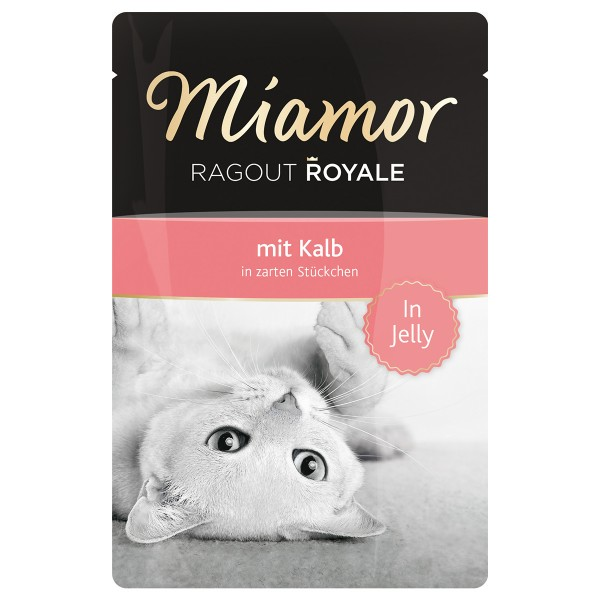Miamor Katzenfutter Ragout Royale in Jelly Kalb