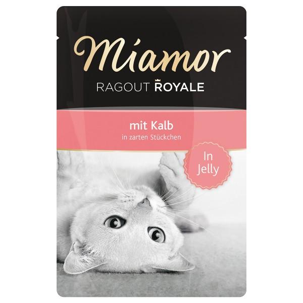 Miamor Katzenfutter Ragout Royale in Jelly Kalb