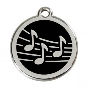 """Red Dingo Katzen- & Hundemarke """"Music"""""""