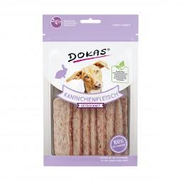 Dokas Hundesnack Kaninchenfleisch getrocknet