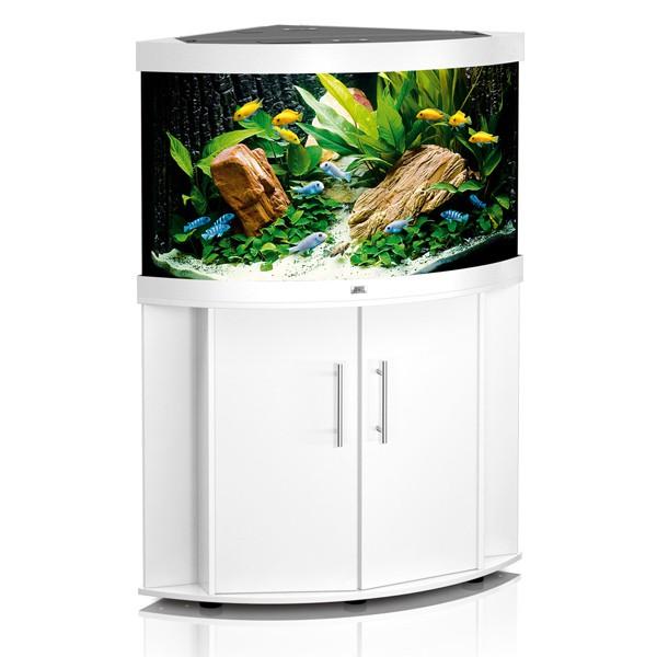 Trigon Eck-Aquarium Kombination 190 - weiß