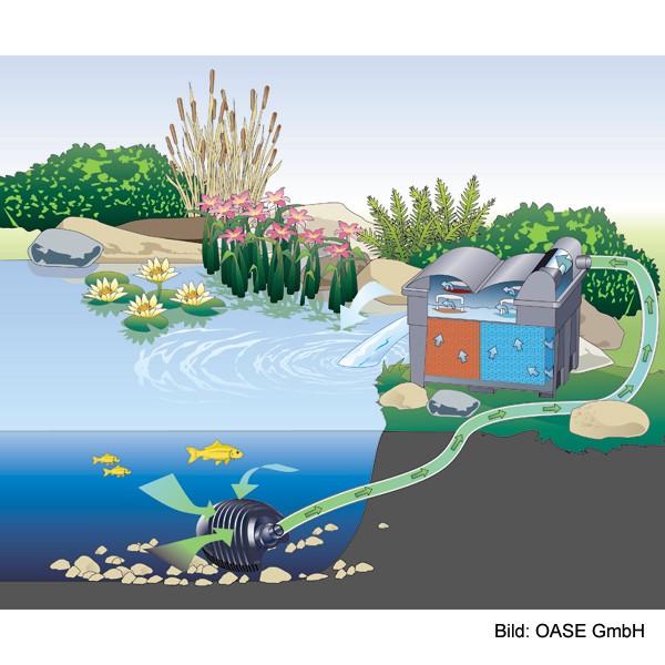 Oase Durchlauffilter BioSmart Set