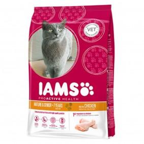 IAMS Katze Trockenfutter Mature & Senior Huhn