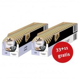 Sheba Katzenfutter Classics in Pastete Kalb & Huhn 44x85g