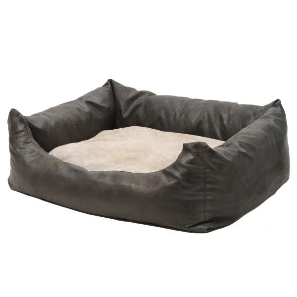 DBS Premium Hundebett Antiqua schwarz