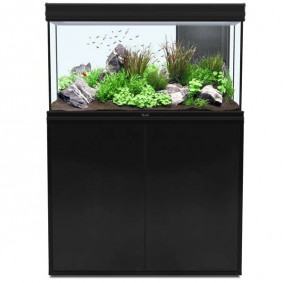 Aquatlantis Aquarium Kombination Fusion 100 LED schwarz 19mm