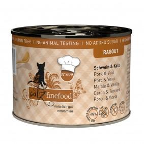 catz finefood Ragout No.609 Schwein & Kalb
