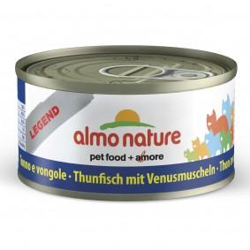 Almo Nature Legend Katzenfutter 24x70gThunfisch mit Venusmuscheln