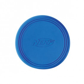 NERF Dog Gummi Frisbee blau/orange 22,8cm