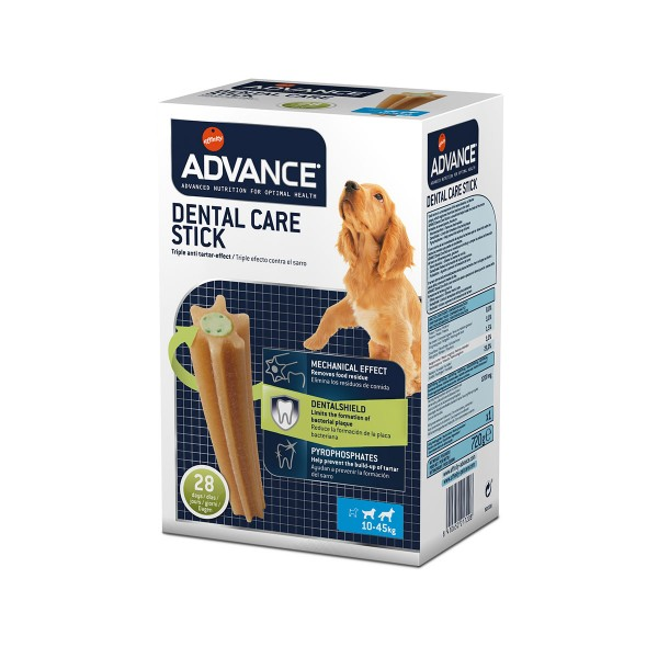Advance Dog Dental Care Stick Medium Maxi Multipack 720g